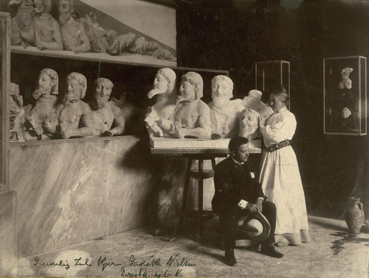 Billedhuggeren Anne Marie Carl-Nielsen og den antikke græske kunst